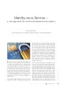 idOnDemand | Article | Identity-as-a-Service