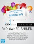 How To Throw a Social Media Party! - Infographic
