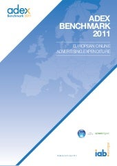 Adex Benchmark 2011 (IAB Europe)