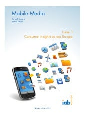 Mobile Media; Consumer Insights acr...
