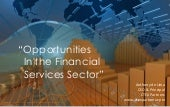 Technology Opportunities in the Financial Services Sector