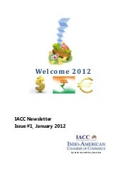IACC newsletter january 2012 issue 1 f