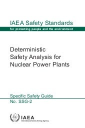IAEA Safety Standard No. SSG-2