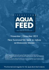 New functional fish feeds to reduce...