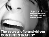 Secrets of Brand-Driven Content Str...