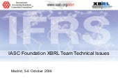 IASC Foundation XBRL Team Technical...