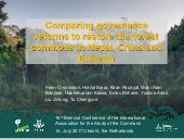 Comparing governance reforms to restore the forest commons in Nepal, China and Ethiopia