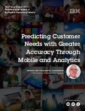Understanding Customers in Context: The Role of Mobile and Analytics