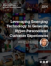 Leveraging Mobile Data to Create Hyper-Personalization