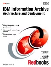 Ibm information archive architectur...