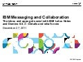IBM Messaging and Collaboration: details and what's new in v8.5.3