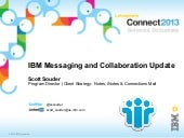 Ibm messaging & collaboration roadm...