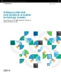 IBM Mobile First Enterprise Report