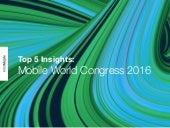 Top 5 Insights: Mobile World Congress 2016