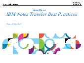 IBM Notes Traveler Best Practices