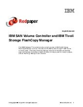 Ibm san volume controller and ibm t...