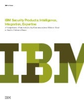 IBM Security Products: Intelligence...