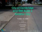 IBM Smarter Cities Webinar City of ...