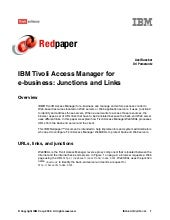 Ibm tivoli access manager for e bus...