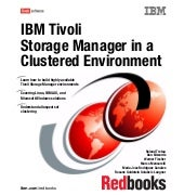 Ibm tivoli storage manager in a clu...