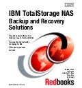 Ibm total storage nas backup and recovery solutions sg246831