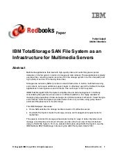 Ibm total storage san file system a...
