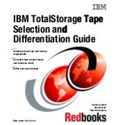 Ibm total storage tape selection an...
