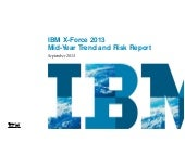 Ibm x force 2013 mid-year trend and...