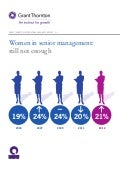 IBR 2012 - Women in senior management – still not enough