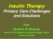 Ibrahim elebrashy.insulin therapy