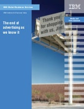 IBM Ad Study: The end of advertisin...