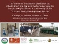 Influence of innovation platforms on information sharing and nurturing of smaller innovation platforms: A case study of the Tanzania Dairy Development Forum