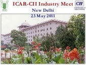 ICAR PPP - ICAR CII MEETING 23 MAY ...