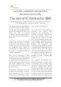 The Role of Intellectual Capital Centre for SMEs (APICC Whitepaper #4)
