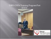 THRS CIEDs Training Program Part II: ICD