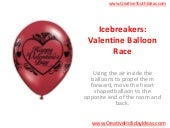 Icebreakers: Valentine Balloon Race