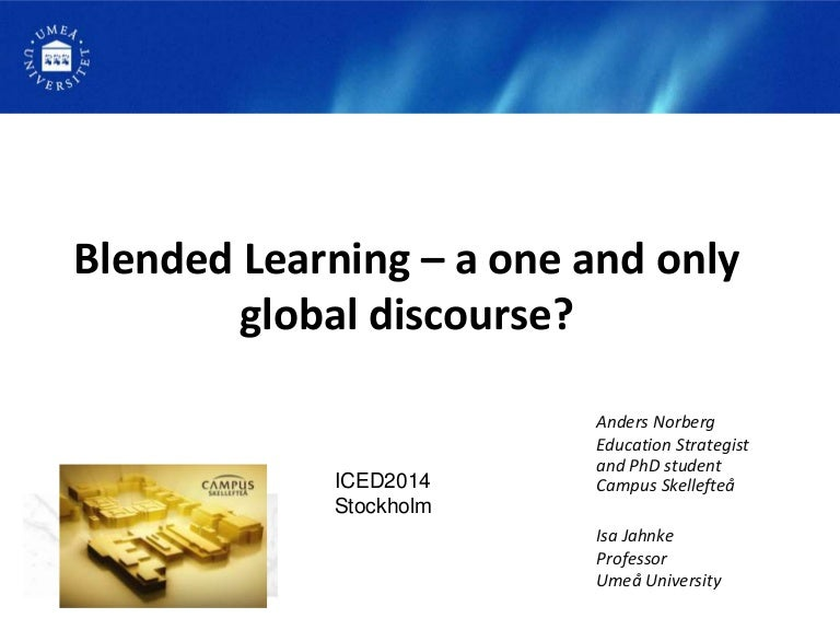 Phd thesis blended learning