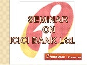 ICICI- A private bank
