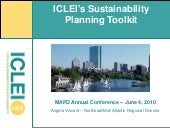 ICLEI's Sustainability Planning Too...