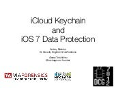 Breaking Down the iCloud Keychain
