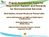 PES tools from ICRAF