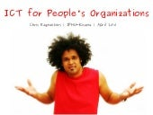 ICT for People's Organizations
