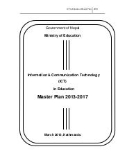 Ict in-education-master-plan-nepal