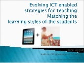 ICT Enabled Teaching