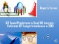 Ict spend predictions in small us insurers   estimated ict budget breakdowns in 2013 - Reports Corner