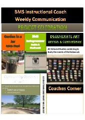 IC Weekly Communication May 11, 2015