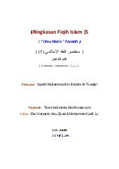 Id 05 summary_of_the_islamic_fiqh_t...