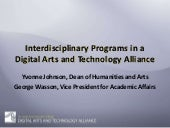 Interdisciplinary Programs in a Dig...