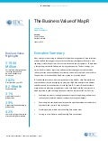IDC Report - The Business Value of MapR