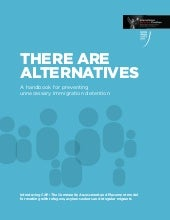 Idc handbook on alternatives to det...
